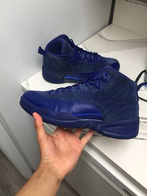 Retro Jordan 12 royal deep blue size 11 no box federal way pickup only 100$ FIRM, NOT TAKING OFFERS for Sale in Federal Way, WA