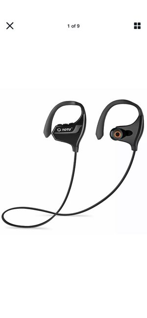 TOTU sport BT-2 headphones wireless for Sale in Mt. Juliet, TN
