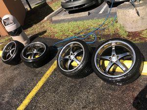 Tork wheels 18x9 5x100 for Sale in Orlando, FL