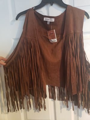 Fringe Vest for Sale in Humble, TX