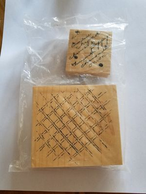 Herb garden theme rubber stamp set for Sale in Chicago, IL