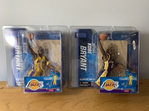 Kobe Bryant LA Lakers COLLECTIBLE RARE ACTION FIGURE LOT for Sale in Tampa, FL