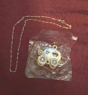 New Pumkin Pendent 14k Rose Gold Necklace for Sale in Brooklyn, NY
