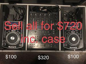 Dj equipment cheap!!! for Sale in Dallas, TX