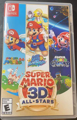 Super Mario 3D All Stars for Sale in Lake Elsinore, CA