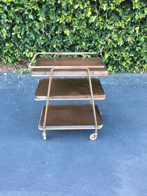 Mid Century Modern MCM Cosco Rolling Metal Cart for Sale in Pomona, CA