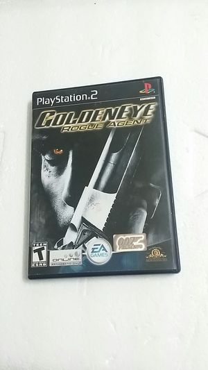 Golden Eye Rogue Agent, PS2 for Sale in El Cajon, CA