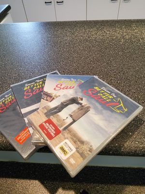 Better call saul complete 4 seasons brand new dvd set for Sale in Winter Garden, FL
