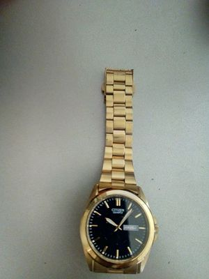 Gold Men's Citizen Watch for Sale in Washington, DC