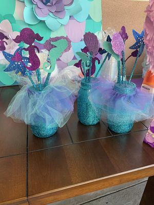 Under the sea mermaid party items for Sale in Pico Rivera, CA