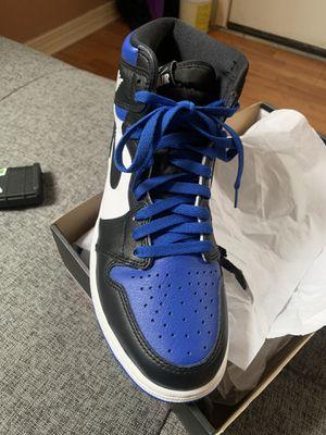 Jordan 1's royal blue toe for Sale in New Orleans, LA