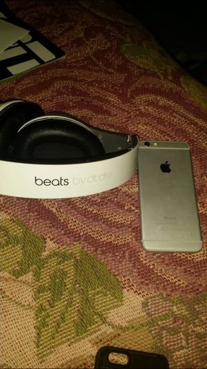 Beats and iPhone 6 16gb t-mobile for Sale in West Valley City, UT