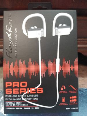 Bluetooth ProSeries Wireless Sports earbuds with inline microphone for Sale in Philadelphia, PA