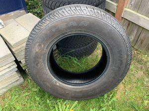255/75/17 Goodyear wrangler sr-a for Sale in Seattle, WA
