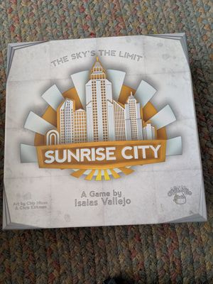 Sunrise City Board Game for Sale in Berlin, MA