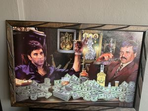Scarface wooden frames 3ft by 2ft for Sale in Los Angeles, CA