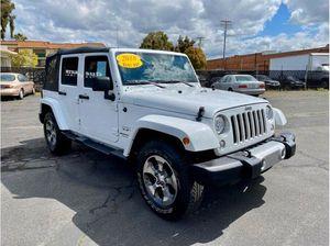 2018 Jeep Wrangler $3000 de enganche te lo llevas sin importar el crédito for Sale in Santa Ana, CA