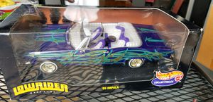 Hot Wheels Collectibles '65 Impala Toy Car Lowrider Magazine 1:18 scale for Sale in Fredericksburg, VA