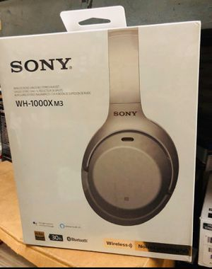 Sony WH1000XM3 Bluetooth Wireless Noise Canceling Headphones for Sale in Gardena, CA