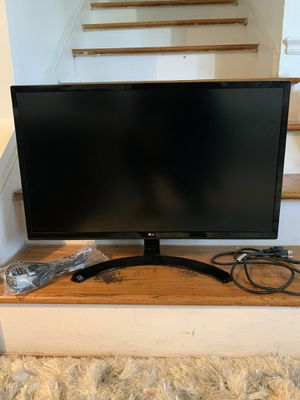 LG monitor for Sale in Charlotte, NC