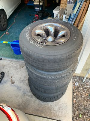 FREE Wheels and Tires off my Toyota Tundra! Fits most Toyota trucks/SUVs for Sale in Santee, CA