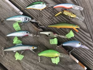 3 Groups of Fishing Lures 25$ Each Group for Sale in Pittsburgh, PA