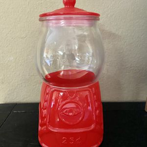 Target Bullseye Playpen Gumball Glass Canister for Sale in Milpitas, CA