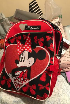 Minnie backpack with lunch pail for Sale in Buena Park, CA