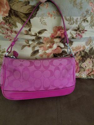 pink coach purse for Sale in Boston, MA