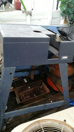 Table saw stand. No motor 26 by 23 ??? for Sale in Wichita,  KS