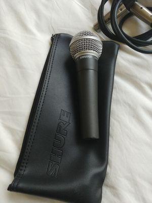 Shure SM58 microphone for Sale in Berkeley, CA