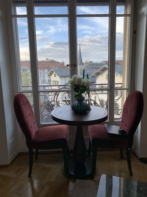 Gorgeous bistro table + 2 chairs for Sale in Boston, MA