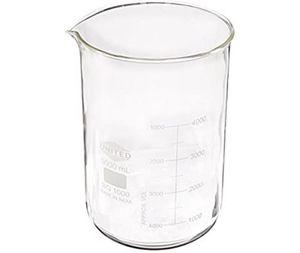 United Scientific BG1000-5000 Borosilicate Glass Low Form Beaker, 5000ml Capacit for Sale in Dana Point, CA