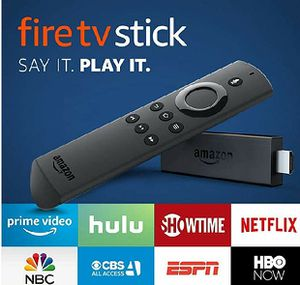 Fire Tv stick w/ Alexa remote new in box for Sale in New Port Richey, FL