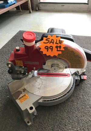 Chicago Electric Power tools miter saw for Sale in Chicago, IL
