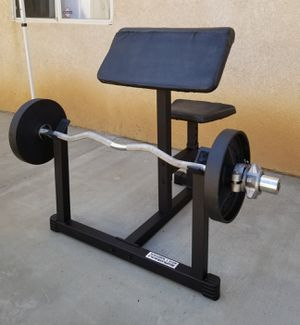 Powerline PPB32X Preacher Curl Bench Set for Sale in Perris, CA