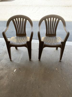 Pair of Patio chairs for Sale in Fullerton, CA