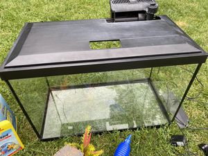 20 Gallon Tank and Full Set Up for Sale in Hastings, MN