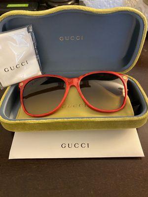 Brand New GUCCI Sunglasses-Red for Sale in Huntington Beach, CA