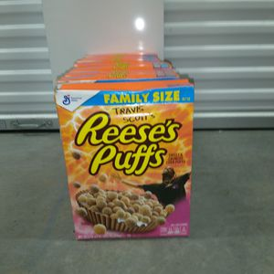 Travis Scott Reese's Puff Cereal for Sale in Beaverton, OR