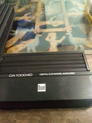 Dual 250.4 Amplifier for Sale in Queens, NY
