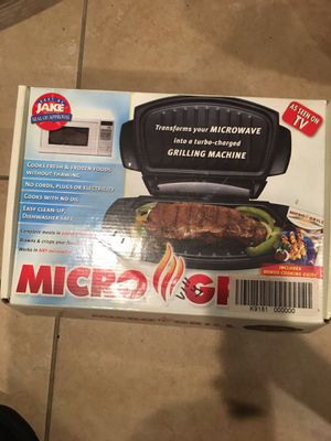 Microwave grill for Sale in Costa Mesa, CA