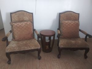 Two accent chairs and sofa for Sale in Phoenix, AZ