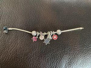 Pandora bracelet with charms for Sale in Ruston, WA