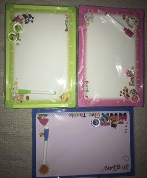 Kids toy (dry erase board with alphabets and pictures) for Sale in Chicago, IL
