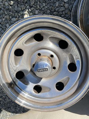 Jeep Wrangler or Ford Ranger wheels 16x7 5 on 4 1/2 bolt pattern for Sale in El Cajon, CA