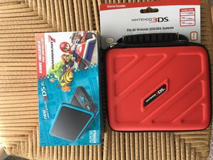 Brand New Nintendo 2ds xl MarioKart 7 with case for Sale in Silver Spring, MD