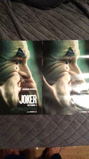 JOKER posters for Sale in Houston, TX