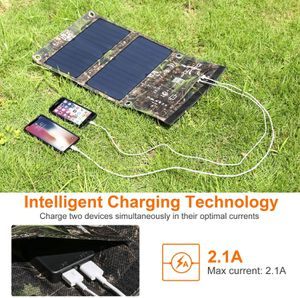 Dohiker 27W Solar Charger, Portable Solar Panel Foldable High Efficiency for Sale in Fontana, CA