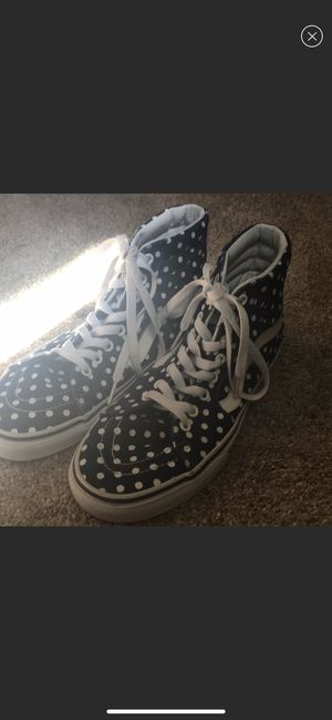 Vans brand new never worn!!! Fits a woman's 8 for Sale in Old Forge, PA
